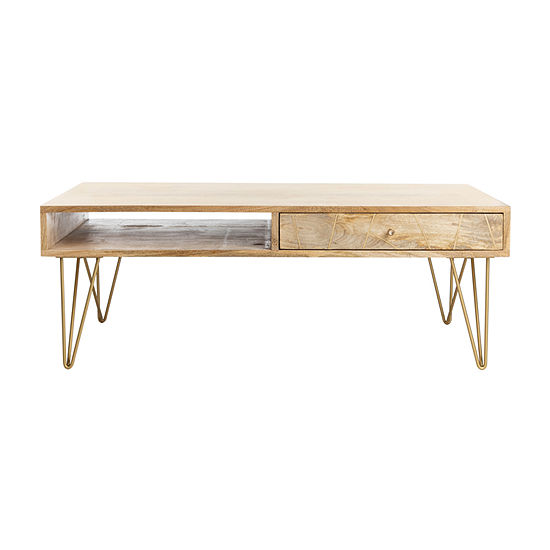 Safavieh 1-Drawer Coffee Table