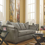 Signature Design by Ashley® Audrey Fabric Pad-Arm Sofa