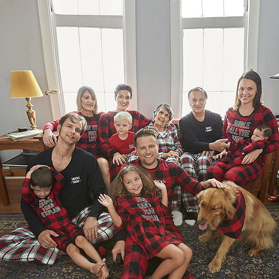 North Pole Trading Co. Holiday Plaid Matching Family Pajamas