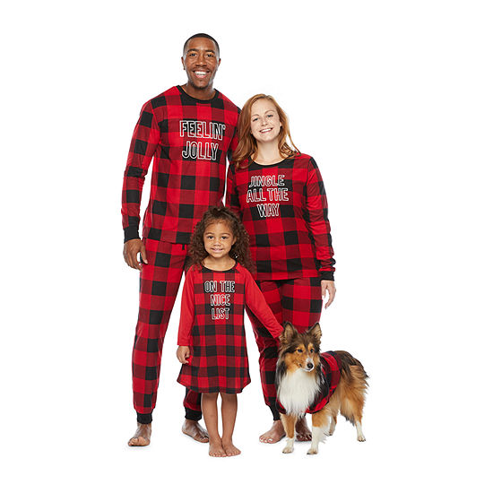 North Pole Trading Co. Buffalo Plaid Matching Family Pajamas
