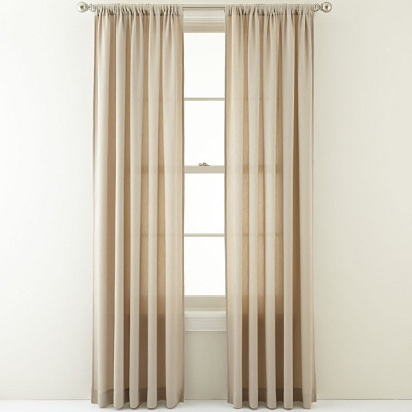 Royal Velvet® Ally Rod-Pocket Curtain Panel