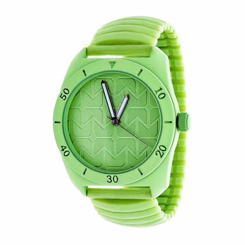 Rbx Unisex Green Strap Watch-Rbx001ng