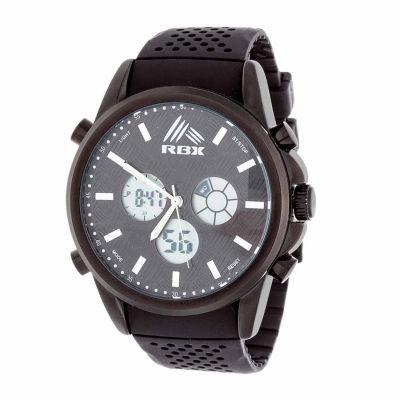 Rbx Unisex Black Bracelet Watch-Rbx012bk