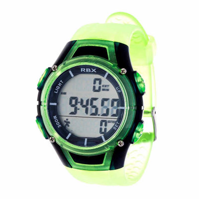 Rbx Unisex Green Strap Watch-Rbxpd001lg-Cl