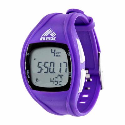 Rbx Unisex Purple Strap Watch-Rbxpd002pu