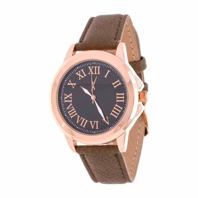 Xtreme Time Mens Rose Goldtone Bracelet Watch-Nwl389068q-Br