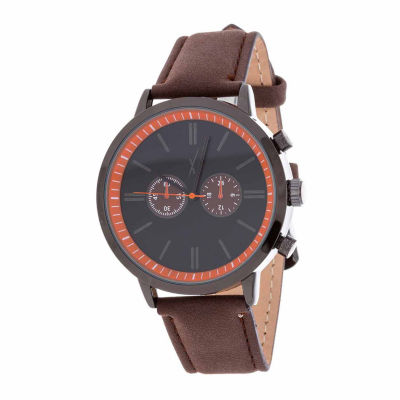 Xtreme Time Mens Brown Bracelet Watch-Nwl389087bk-Br