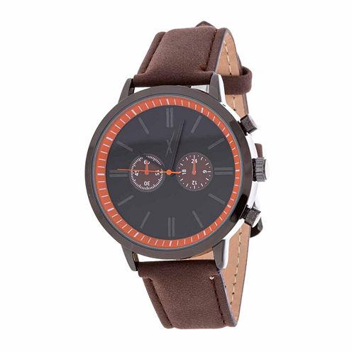 Xtreme Time Mens Brown Bracelet Watch-Nwl389087bk-Br