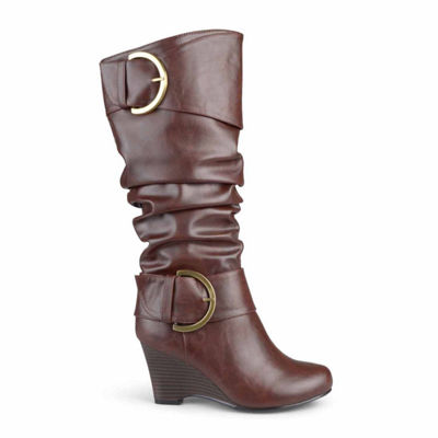 Journee Collection Extra Wide Calf Womens Slouch Boots
