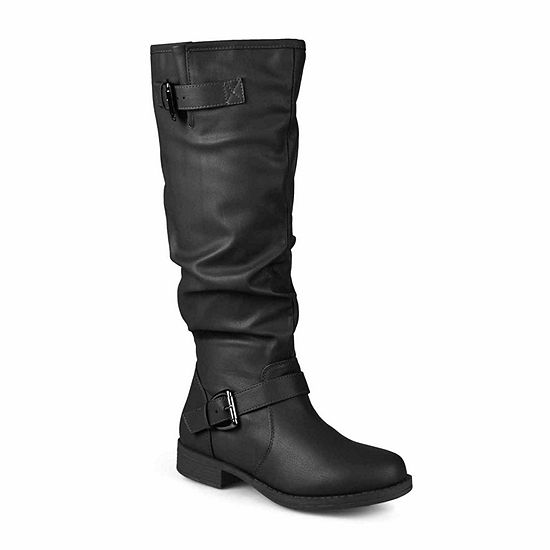 Journee Collection Womens Stormy Extra Wide Calf Riding Boots