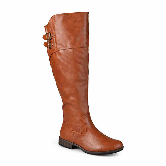 Journee Collection Womens Tori Extra Wide Calf Riding Boots