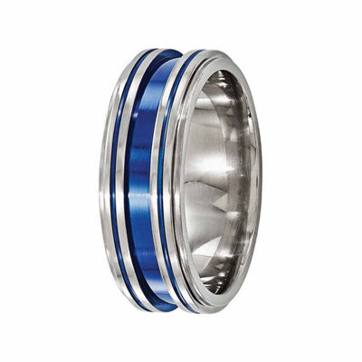 Edward Mirell Mens 8 Mm Titanium Wedding Band