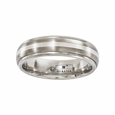 Edward Mirell Mens 6 Mm Wedding Band