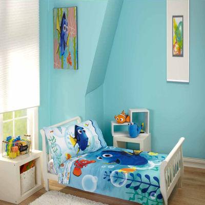 Disney 4-pc. Finding Dory Toddler Bedding Set