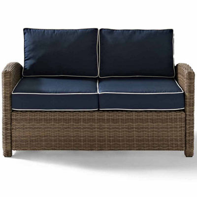 Crosley Bradenton Wicker Patio Lounge Chair