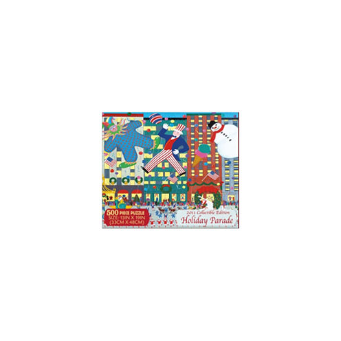 Briarpatch Holiday Parade Puzzle - Collectible Edition: 500 Pcs