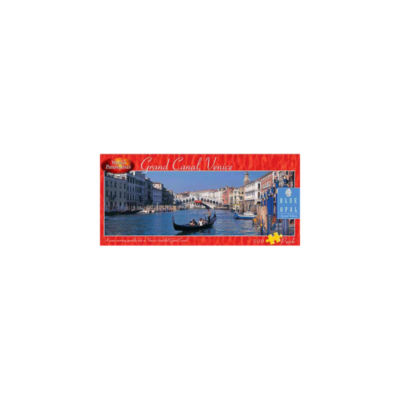 Blue Opal World Panoramas - Grand Canal Venice Puzzle: 500 Pcs