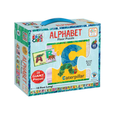 BePuzzled The World of Eric Carle Alphabet Floor Puzzle: 26 Pcs