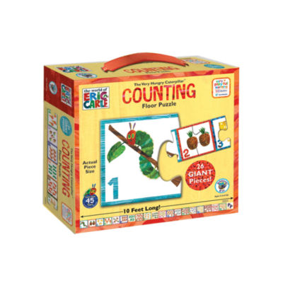 BePuzzled The Very Hungry Caterpillar Counting Floor Puzzle: 26 Pcs