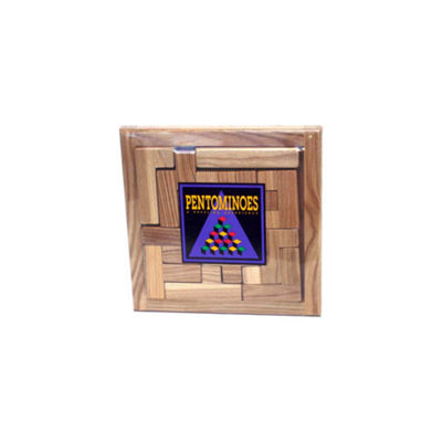 Square Root Pentominoes Brainteaser Puzzle