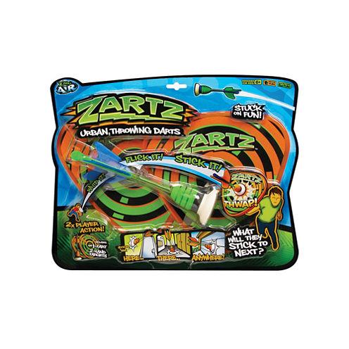 Zing Toys Zartz Urban Throwing Darts Fun Pack