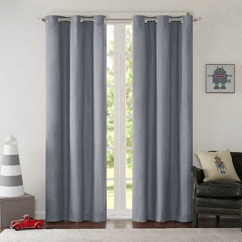 Adam Grommet-Top Curtain Panel