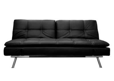 Serta Matrix Leather Sleeper Sofa
