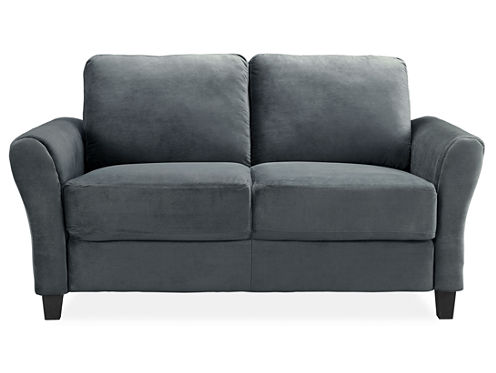 Westin Microfiber Rolled Arm Loveseat