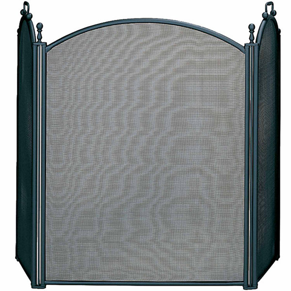 3 panel woven mesh fireplace screen jcpenney 3 panel woven mesh fireplace screen teraionfo