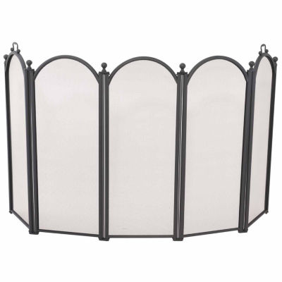 Blue Rhino 5 Panel Large Diameter Fireplace Screen