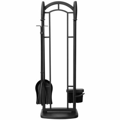 Wrought Iron Fireplace Tool Set