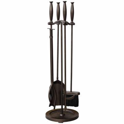 Bronze Fireplace Tool Set