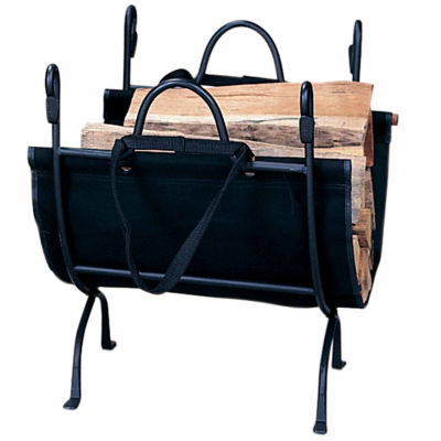 Deluxe Wrought Iron Log Rack