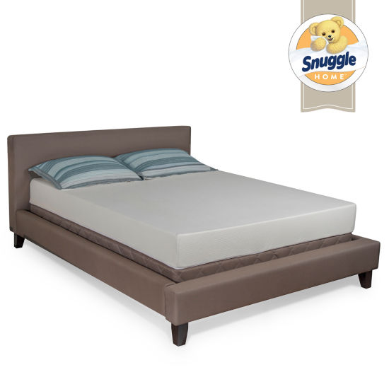 "Snuggle Home 7"" Tight-Top Memory Foam Mattress"
