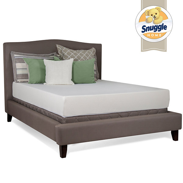 "Snuggle Home 10"" Firm Tight-Top Latex Plus Foam Mattress"