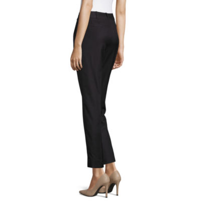 Worthington Slim Fit Ankle Pants-Talls