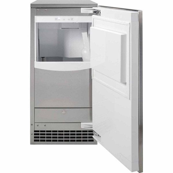 "GE® 15"" Gourmet Clear Ice Maker"