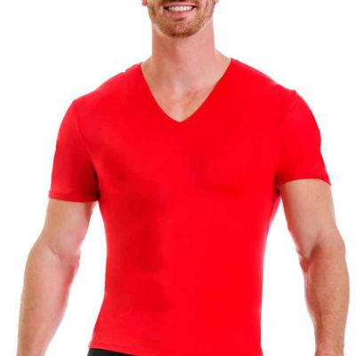 Insta Slim Men's Compression V-Neck Shirt