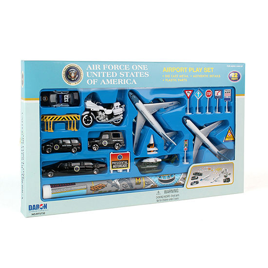 a1dd66e324 Daron Air Force One Die-Cast Playset - 20 Pieces - JCPenney