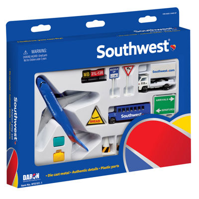 Daron Southwest Airlines Airport Play Set