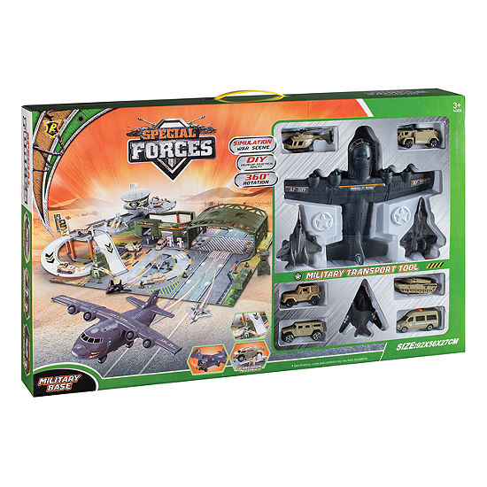 Special Forces Military Base Playset W Accessories