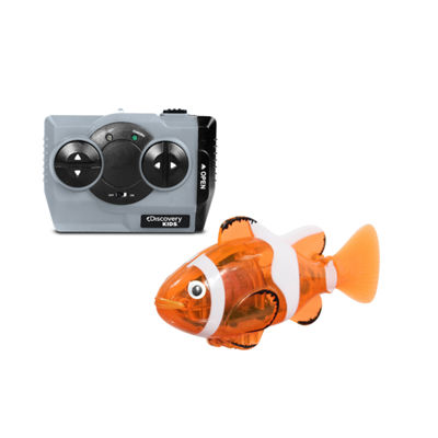 Nkok Discovery Kids Ir Rechargeable Clown Fish Remote Control Toy
