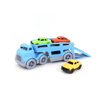 Green Toys Car Carrier W/ Cars