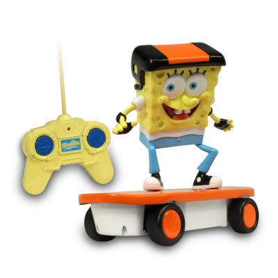 NKOK SpongeBob 49 MHz Skateboarder R/C Vehicle