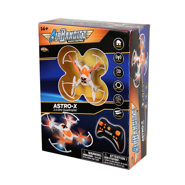 Nkok Air Banditz 2.4Ghz Astro-X Quadcopter RemoteControl Toy - Colors Vary