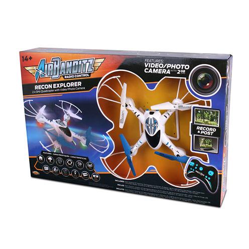 Nkok Air Banditz 2.4Ghz Recon Explorer Drone Remote Control Toy