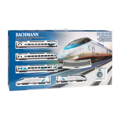Bachmann Trains Amtrak Acela Ready to Run Electrict Train Set with DCC On Board - HO Scale