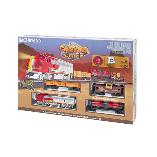 Bachmann Trains Canyon Chief Ready To Run ElectricTrain Set - Ho Scale