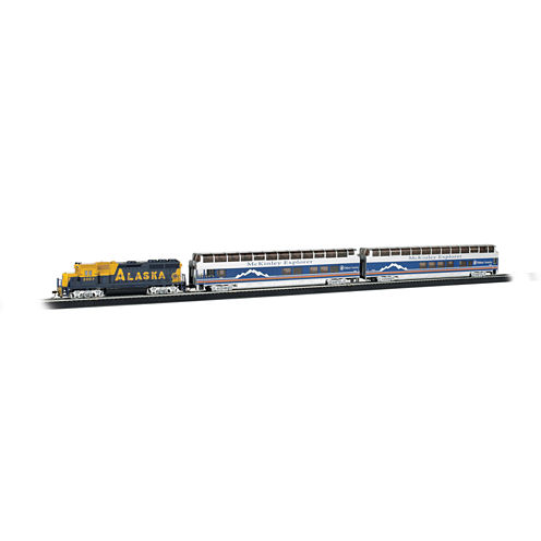 Bachmann Trains Mckinley Explorer - Ho Scale ReadyTo Run Electric Train Set