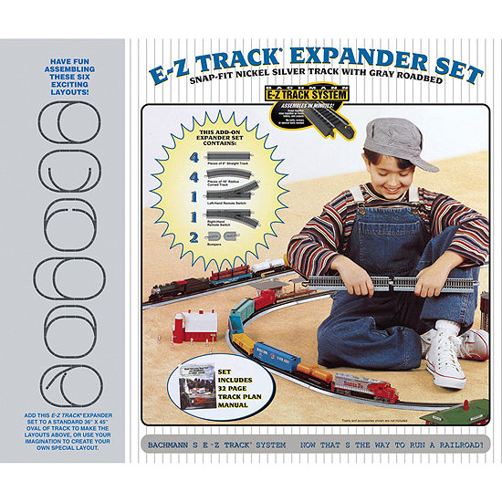 Bachmann Trains Nickel Silver E-Z Track Layout Expander Set - Ho Scale
